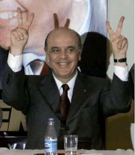 José Serra, PSDB, presidente, brasil, guampa, chifres, o sombra