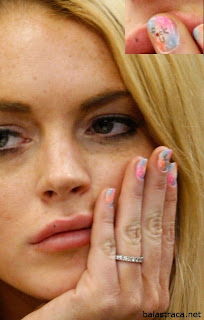 Lindsay Dee Lohan, unhas rebeldes, gata, nails, alcoolismo, tribunal, condenação, cadeia, gostosa
