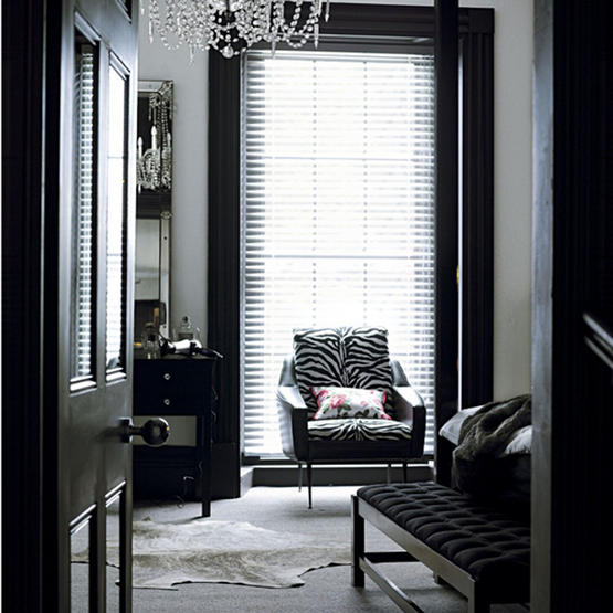Decorating With Black White: Interior Design Addict: Make A Statement With Black Trim