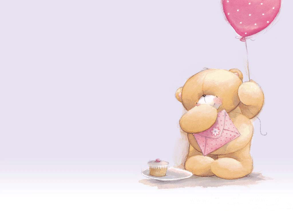 baby bear cartoon wallpaper