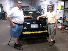 Kent and Steve with the Hiero PHEV