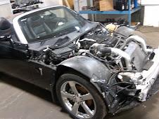 Pontiac being restored