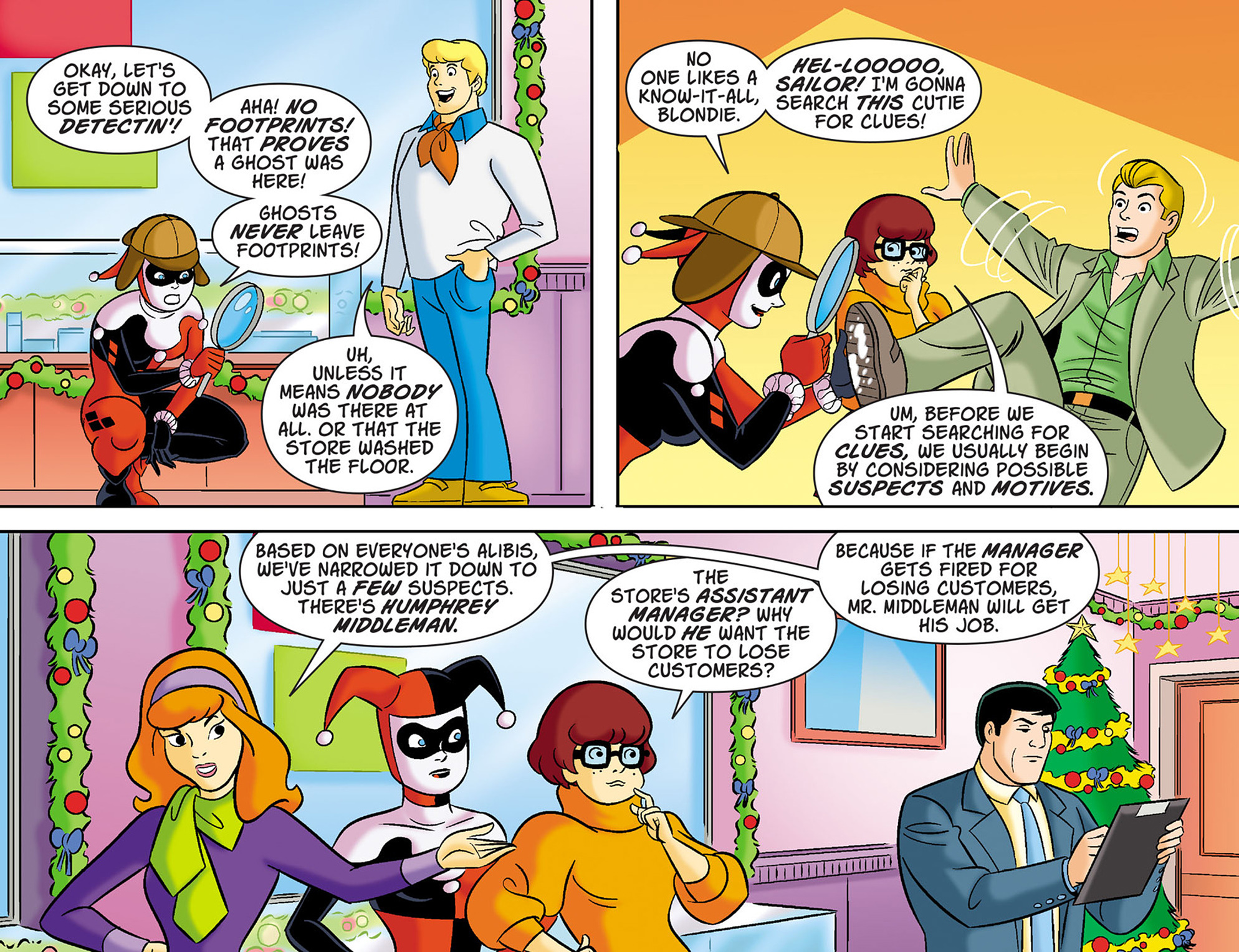 Read online Scooby-Doo! Team-Up comic -  Issue #41 - 12