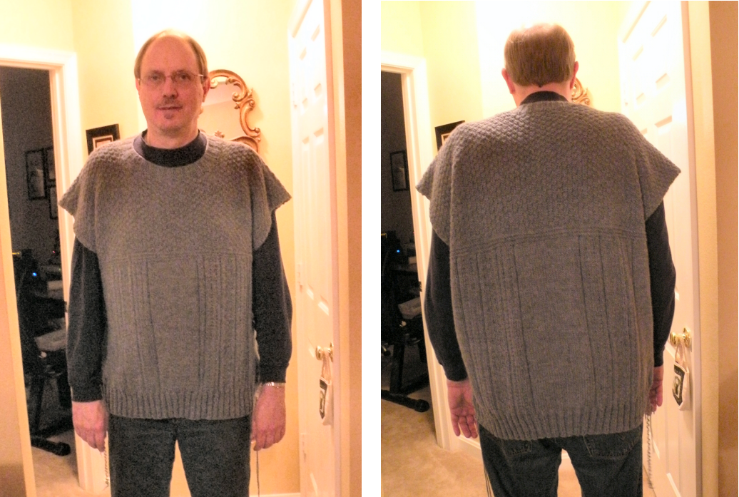 Knitting A Sweater Neckline : Knitting at large: successful sweater surgery
