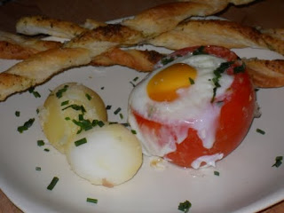 Presentación del plato.