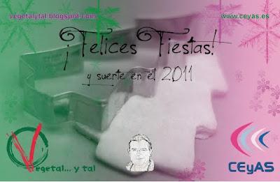 ¡Felices fiestas! ... y suerte en el 2011.