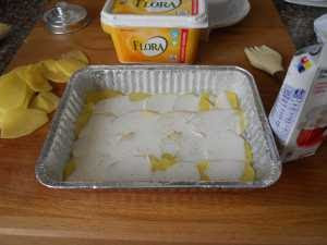 Añadir nata.