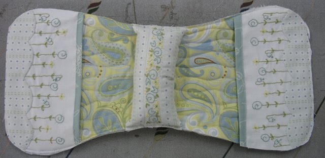 Couch Arm Padded Cover Pattern
