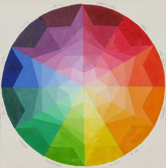 Mix tape art 120 creative color wheels for Creative color wheel