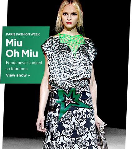 RedPoppy Fashion: Miu Miu Spring 2011: Paris Fashion Week
