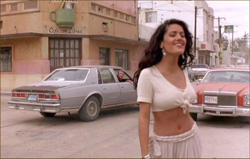 salma hayek desperado video