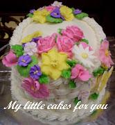 Les Fleurs Cake