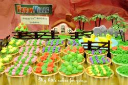 Farmville Cupcakes