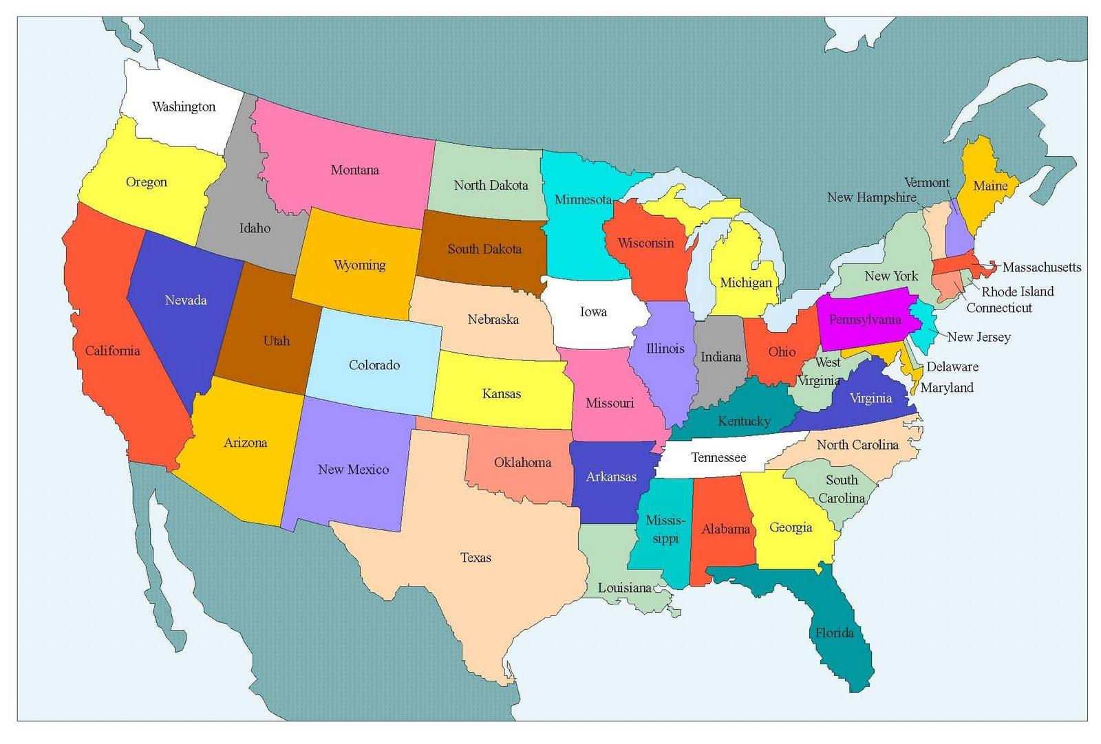Ver Mapa Usa - Usa mapa