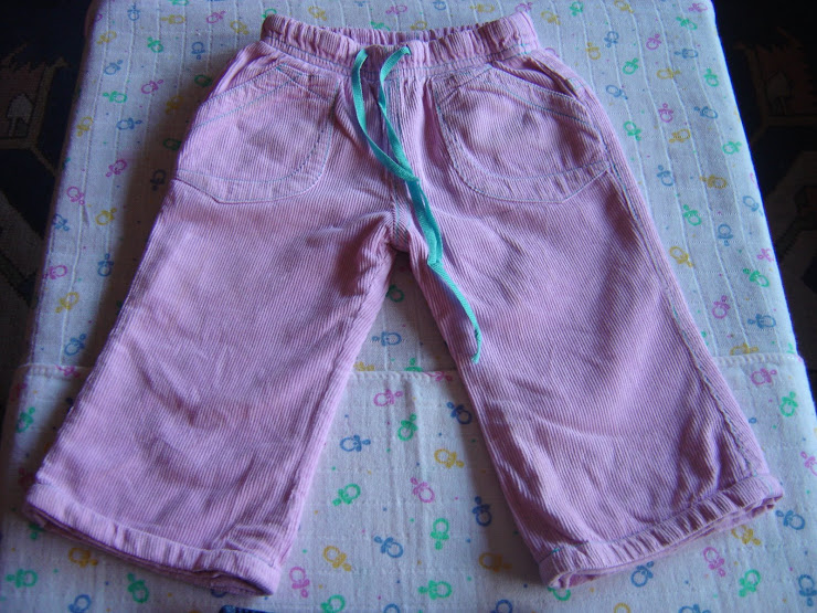 calças lilás, 3,00eur, 6meses