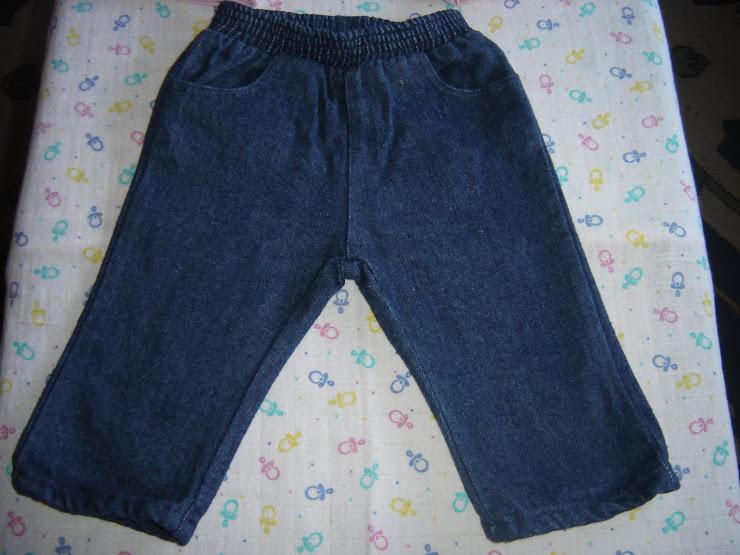 calças ganga, 3,00eur, 6 meses