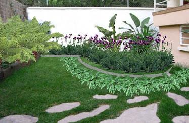 Jardines modernos for Jardines secos modernos