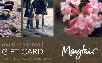 """Interested in scoring a $100 Gift Card for the Mayfair Mall? All you have to do is suggest your friends to """"Like"""" our Facebook Fan Page."""