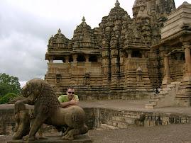 En Kajuraho (India)