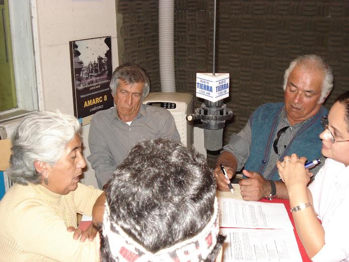 EN RADIO TIERRA de SANTIAGO
