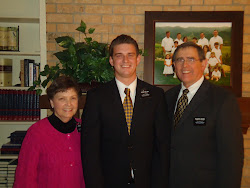 President and Sister Drewes with Elder Nelson