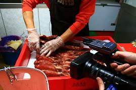 10/01/09客家電視CH17客家新聞雜誌採訪鍾家臘肉