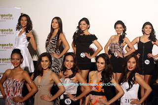 Candidates of Bb. Pilipinas for 2010