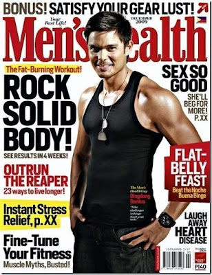 Dingdong Dantes Men's Health Cover