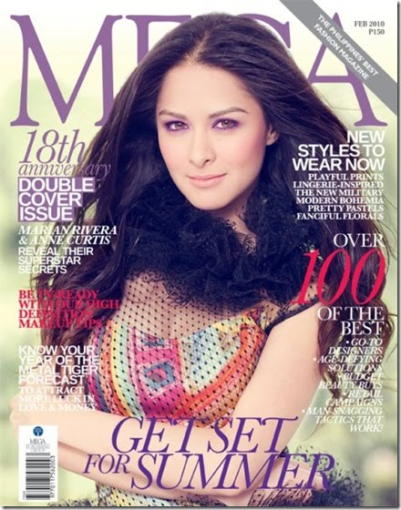 Marian Rivera on the cover of MEGA Magazine February Issue