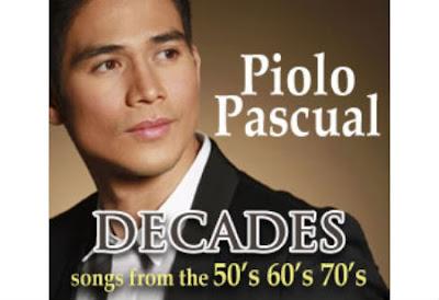 Piolo Pascual's album DECADES