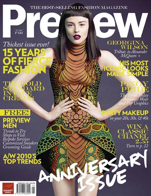 Georgina Wilson Preview June 2010 Issue