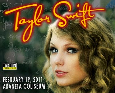 Taylor Swift Live Concert In Manila