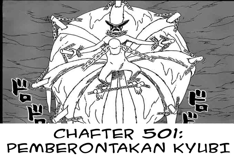 komik naruto 501 pemberontakan kyubi bahasa indonesia
