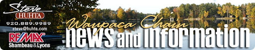 Waupaca Chain O' Lakes Real Estate & Other News and Information