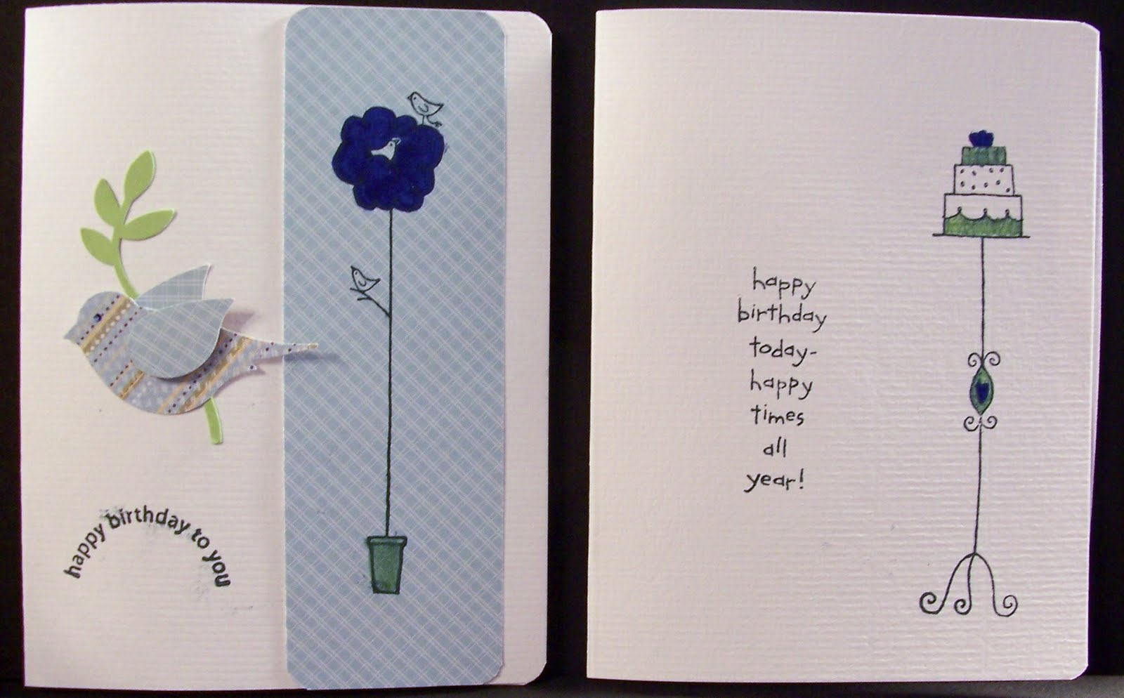 Inside Of Birthday Card Ideas