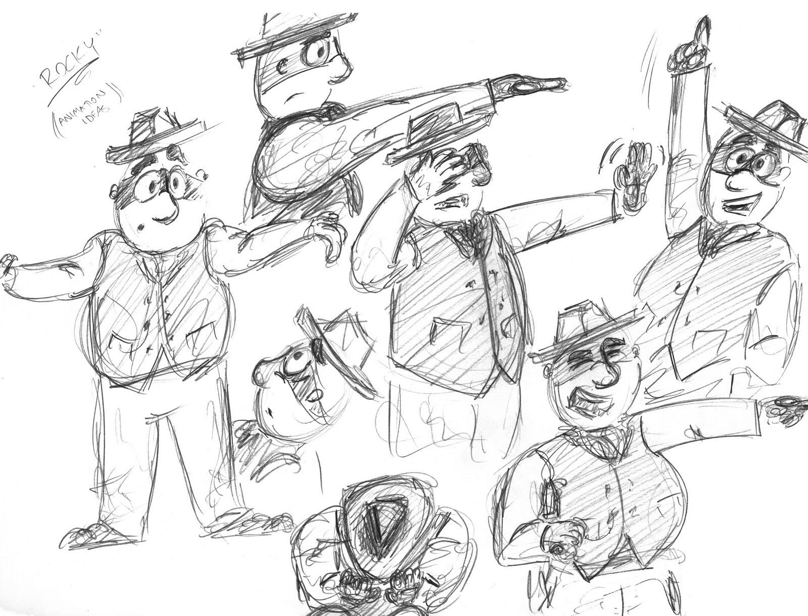 logan drawings  april 2010