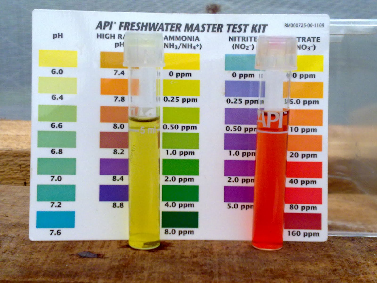 api nitrate test instructions