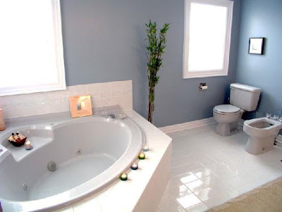 Elegant Calssic Bathroom Interior Decoration