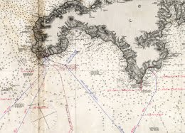 PK Cable Map 1880's