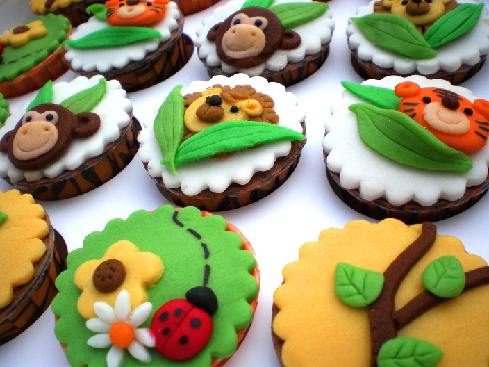 Mom And Daughter Cakes Cupcakes For Children Jungle Book