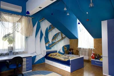 Room Interior  Kids on Home Interior Design Idea   Children Bedroom