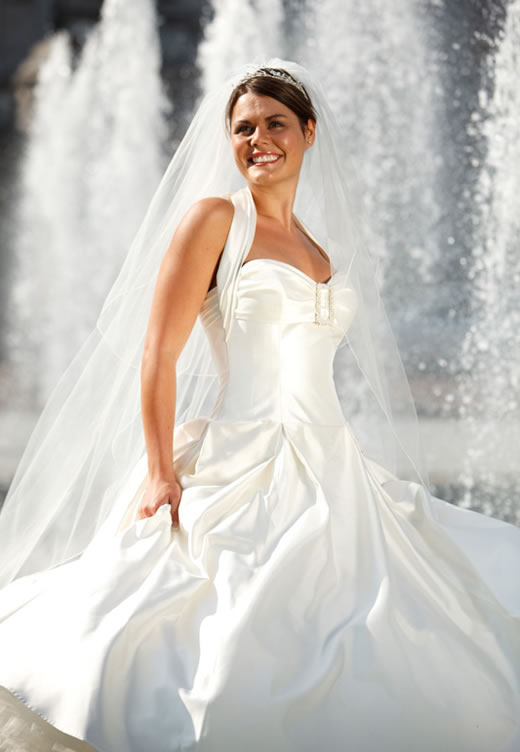 Simple White Wedding Dresses