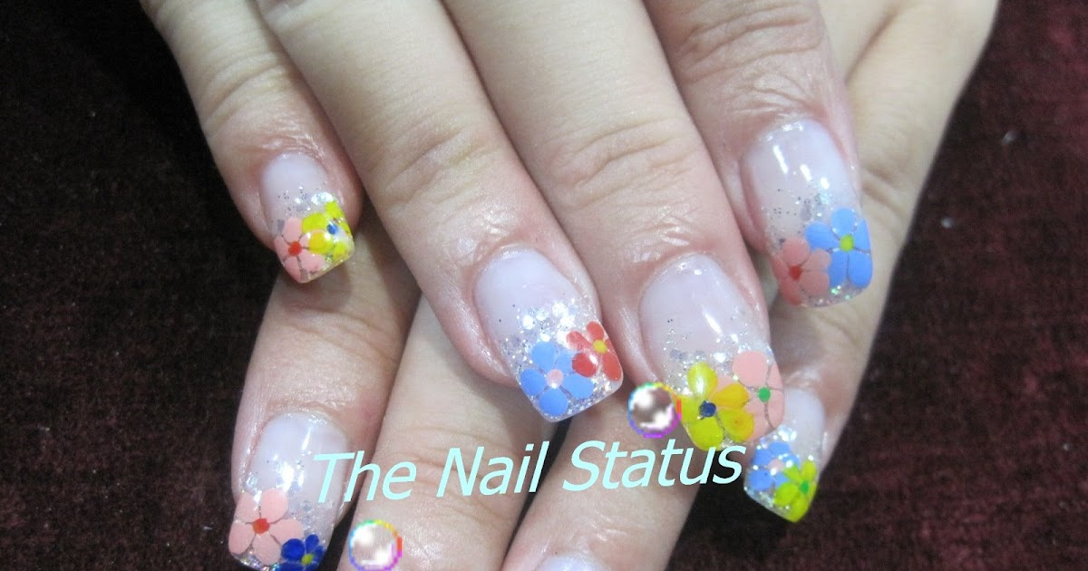 Curved Acrylic Nail Tips - Nails Gallery