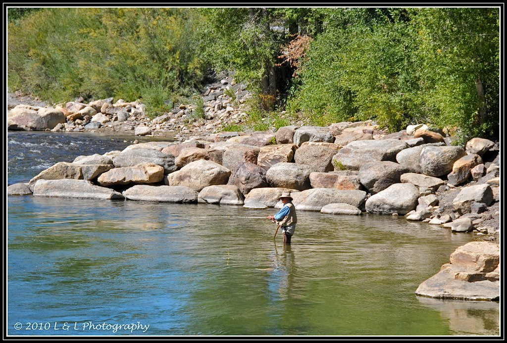 Colorado in color fly fishing arkansas river salida for Trout fishing in arkansas