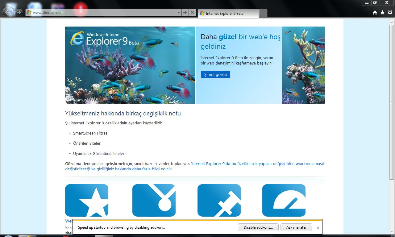 Internet explorer 9 kennenlernen
