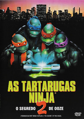 As Tartarugas Ninja 2: O Segredo do Ooze - DVDRip Dublado (RMVB)