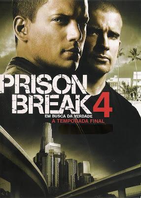 Prison Break - 4ª Temporada Completa - DVDRip Dual Áudio