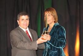 La Directora del certamen recibe el Premio de la Asociación de Periodistas de Espectáculos de Chile