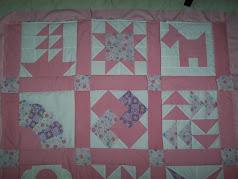 Mi primer dechado... Aquí inicié en el mundo del patchwork