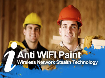 anti WIFI paint, stealth WIFI paint